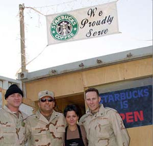 us military starbucks